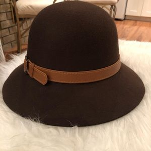 👒NEW Magic Hats Wool Brown Hat with Tags